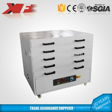 multi-layer screen frame drying cabinet