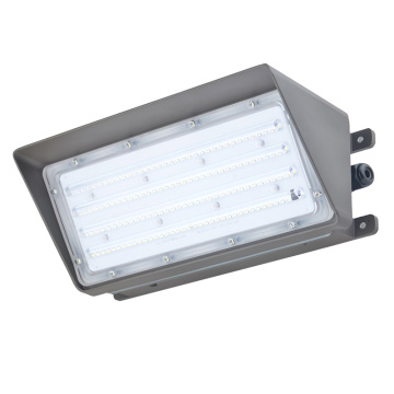 Paquete de pared industrial de 80W con luces LED 5000K