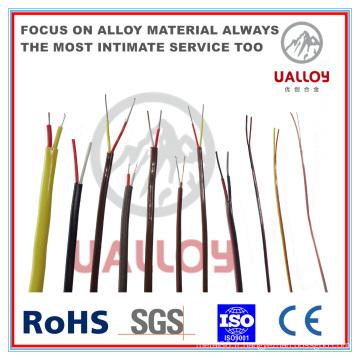 Câble de compensation de thermocouple isolé par fibre de verre de type N
