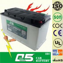 DIN100 12V100AH, bateria de carro recarregada a seco com serviço Long Life Time