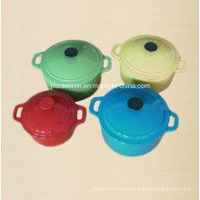 FDA Ce SGS LFGB aprobado conjunto de utensilios de cocina de hierro fundido