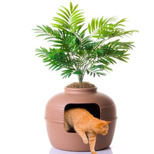 Plant Hidden Cat Litter Box