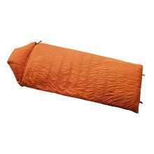 Light Weight Rectangular Envelope White Goose Down Sleeping Bag With Hood Camping Sleeping Bag for Hiking Backpacking