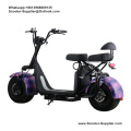 x3 citycoco scooter elektrische grote band