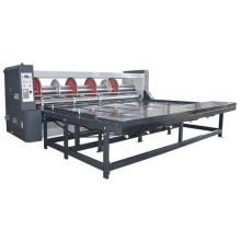 china supplier Rs4 Chain feeder rotary slotting machine for carton box