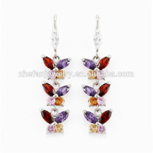 butterfly wings earrings small gold earrings designs for girls Rhodium plated jewelry is your good pick