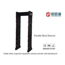 Detector de metales portátil impermeable con alarma visual Indicador de apoyo Mobile Connecting