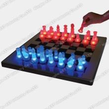 Xadrez LED, Conjunto de Xadrez LED, Conjunto de Xadrez, Conjunto de Xadrez em Vidro