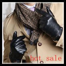 Los mejores guantes de conducción de cuero cortos seling en China