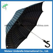 Mens Cool Sport Black Grid Golf Umbrella for Sale