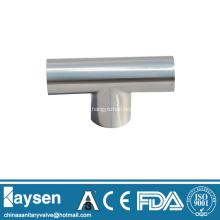ISO1127 accesorios de tubería en T soldados sanitarios