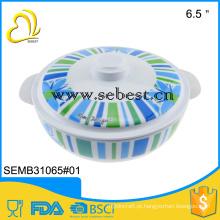 Utensílios de mesa de melamina de plástico redonda eco-friendly EPK barato tigela de sopa