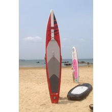 Red Populäre Aufblasbare Surfing Race Stand-up Paddle Board