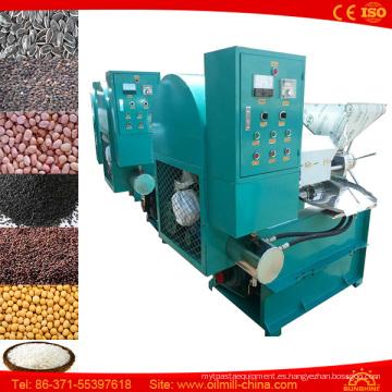 Venta caliente 6yl-80 Máquina automática del aceite del cacahuete del cacahuete