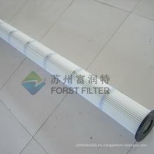 FORST Cartucho de filtro de aire plisado para limpieza industrial de polvo