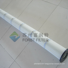 FORST Pleated Air Filter Bag Cartridge For Industrial Dust Cleaning