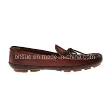 Zapatos de cuero genuino del barco para la venta superior