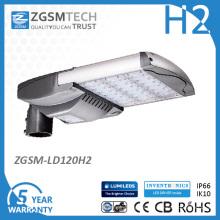 Fabricante alta eficiencia luz 120W LED de carretera con Dlc