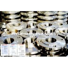 Forja de acero inoxidable 304 316 DIN EN1092-1 Brida
