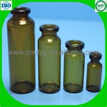 Frasco de vidrio para inyección