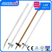 JOAN Lab Wholesaler Rubber Glass / PTFE Stopcock Burette
