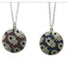 Neuer Entwurf für Frauen Halskette 925 silberne Art- und Weiseschmucksachen N6807