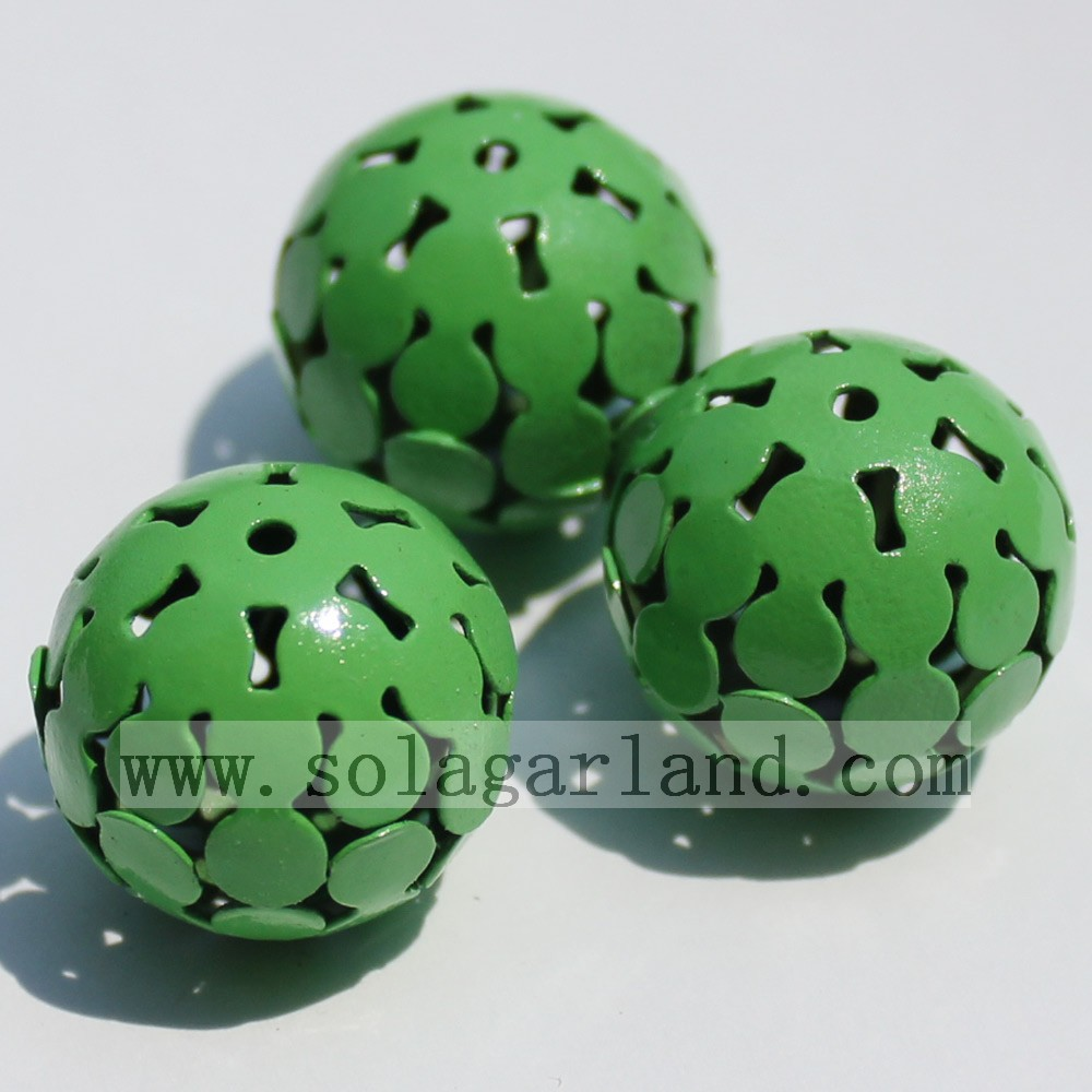 Metal Carved Hollow Spacer Beads