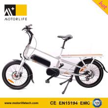 MOTORLIFE/OEM номер одобренный en15194 горячие продажи 48 в 500 Вт 20-дюймовый грузовые велосипеды для продажи