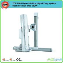 FDR 650S Sistema de raios-X digital de alta definição piso tipo montanha 150kV