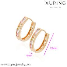 (90065) Boucle d'oreille en plaqué or 18 carats de haute qualité Xuping Fashion