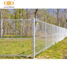2021 hot-selling chain link fence, PVC coated/ galvanized chain-link fence, anti-rust chainlink fence