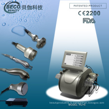 Tripolar RF + Vacuum RF + Supersonic + Cavitation Multifonctionnel Machine