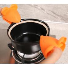 Mouse Head Heat Resistnace Silicone Gloves Untuk Baking
