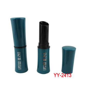 Beauty Girl Green Blue Lipstick Container