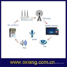 Домашней безопасности беспроводной видео-Телефон двери поддержки 2 способ говорить