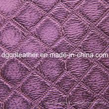Moda acolchado decoración muebles cuero (QDL-51376)