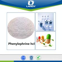 Hot sale GMP qualidade Phenylephrine hcl Cloridrato de fenilefrina