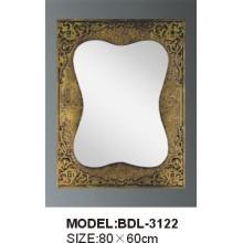 Miroir de salle de bain en verre d'épaisseur 5 mm en épaisseur (BDL-3122)