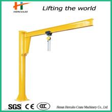 Ground Column Mounted Jib Crane with Hoist