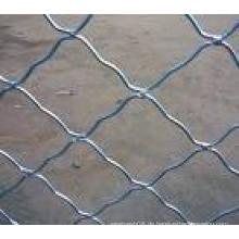 Kettenverbindungs-geschweißter Maschendraht-heiße eingetauchte galvanisierte bewegliche Zaun-Platte in der Baustelle, Baustelle, Pool-Sicherheit (Fabrik)