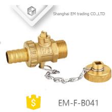 """EM-F-B041 1/2 """"Colector de válvula de radiador de latón con cerradura"""