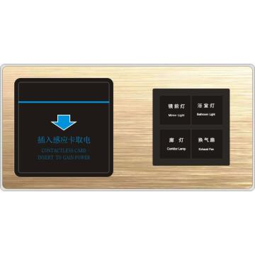 OEM Smart Hotel Switch Panel Tact para proyectos hoteleros