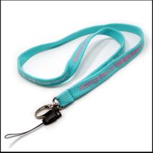 Polyester Narrow/Tubular Weaving Tubular Neck Lanyards for Gift