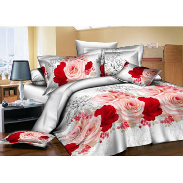 Tissu d'impression Disperse 3D Big Flower Design