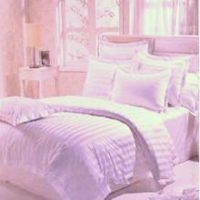 180-280cm utilizado hotel de algodón teñido de tela de la raya del satén
