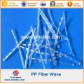Concrete Fiber Reinforcement Polypropylene Wave Fiber