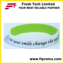 6 años de experiencia OEM Silicone Wristband