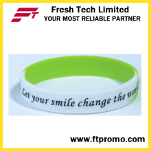 6 Years Experience OEM Silicone Wristband