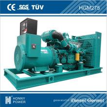 Googol Diesel Generator Set 250kVA Fuel Consumption 50L/H