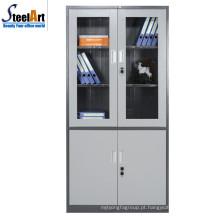 2018 melhor venda de alta qualidade fueniture escritório usado duas portas armário de arquivo